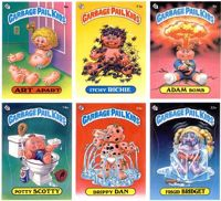 Garbage Pail Kids sticker collection